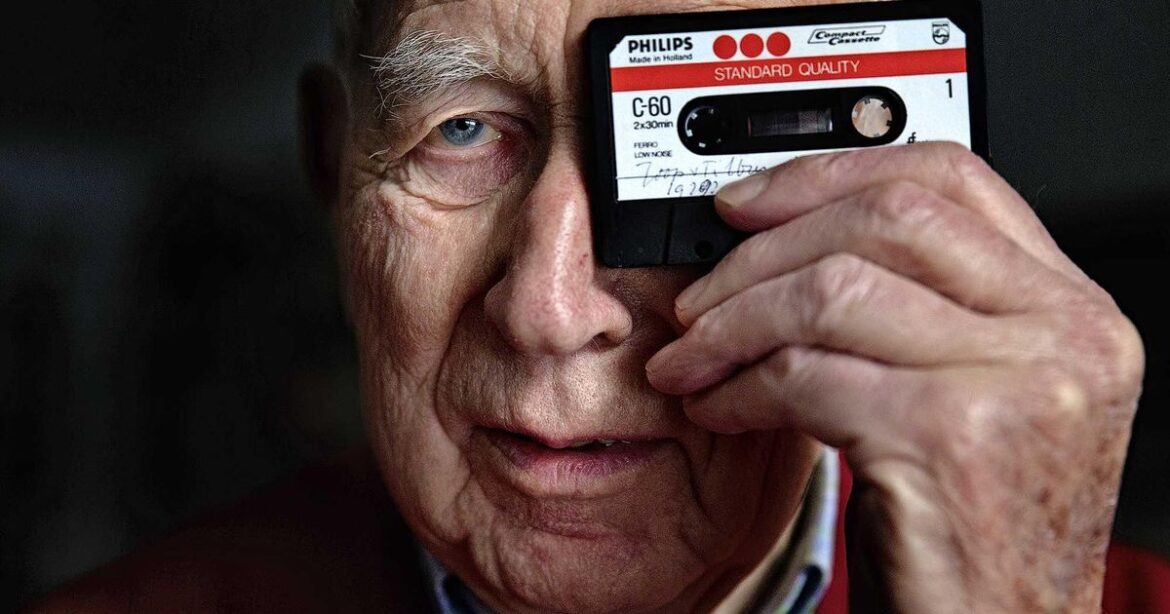 Lou Ottens who invented the audio cassette tape in 1963, has died. He also played a key role in the invention of the CD in 1979.