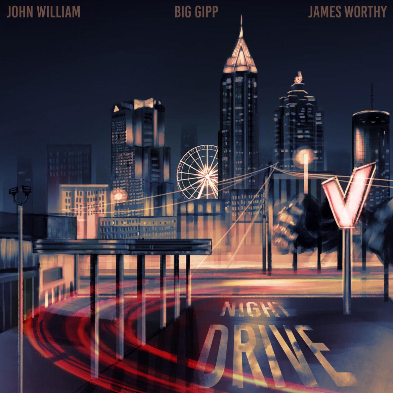 John William, Flautist – Night Drive feat. Big Gipp & James Worthy