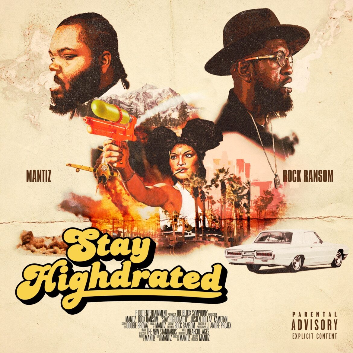 """Mantiz & Rock Ransom Team Up For Highly Anticipated """"Stay Highdrated"""" EP"""
